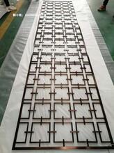 上海輕奢滿焊不銹鋼屏風鏤空隔斷圖片
