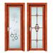 佛山新家寶門窗定制玻璃衛浴門現代簡約工程衛生間門