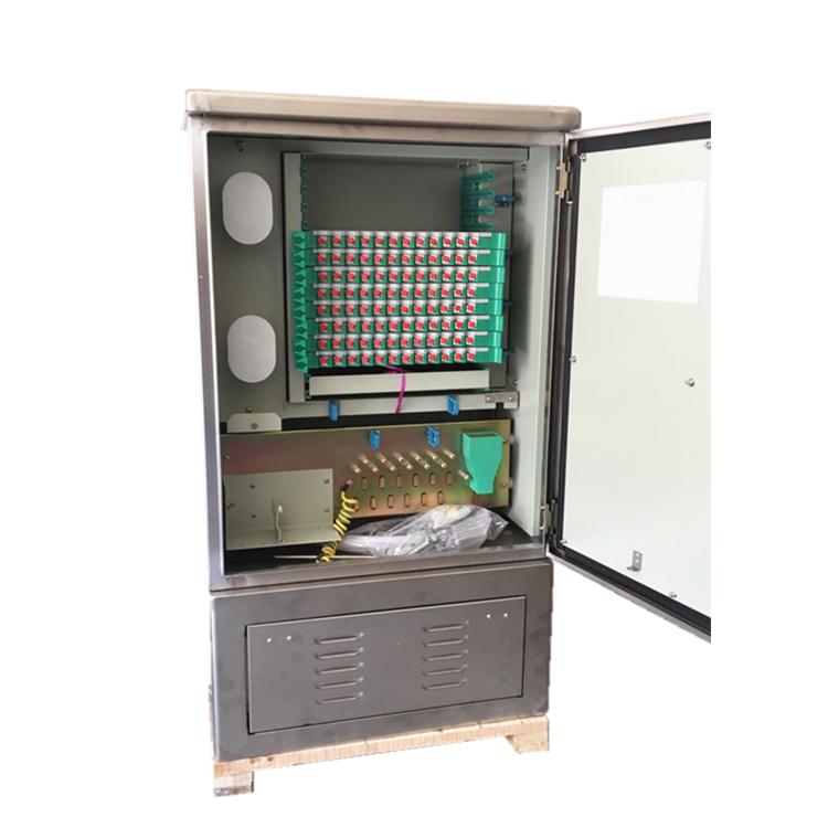 144芯不锈钢光缆交接箱参数型号