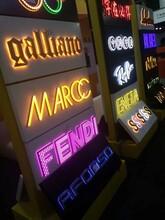 西安形象墙、文化墙、LOGO墙等制作灯箱招牌广告牌发光字