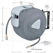 自动伸缩卷管器气鼓气管卷盘30米盘管器图片