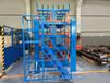 江蘇泰州伸縮懸臂貨架管材存放架鋼材擺放架鋁型材放置架