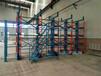 山西晉城軸貨架伸縮懸臂式結構吊車存放長軸傳動軸工業軸
