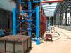 浙江溫州管材貨架伸縮懸臂式結構吊車存放省空間擺放整齊