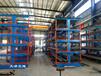 江蘇蘇州伸縮懸臂貨架規格化管理管材車間鋼材庫型材廠房