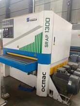 现场出售二手家具厂生产设备青岛千川1.3米砂光机图片