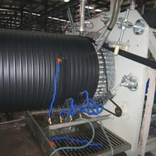PE纏繞頂拉管生產線纏繞井筒管設備預應力波紋管設備圖片