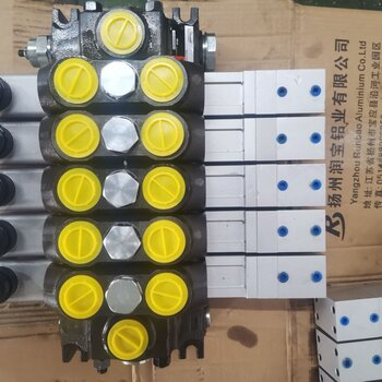 DCV140-5OT五聯雙向高壓多路換向閥組分片式分配器