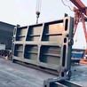 廣東不銹鋼無軸螺旋輸送機揭陽單止水鑄鐵鑲銅閘門南京螺桿啟閉機