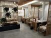天津新中式輕奢實木桌椅現代簡約長方形吃飯桌子椅子