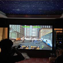 無線激光模擬射擊系統配套家庭影院射擊設備圖片
