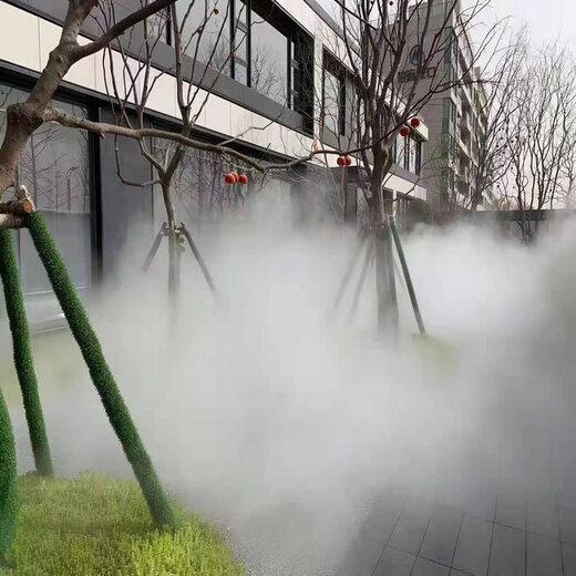 羅山廣場噴霧降溫系統定做