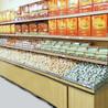 超市货架厂家便利店展示架批发五谷杂粮木制柜定做