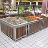 水果蔬菜货架钢木结合果蔬货架展示架生鲜超市货架