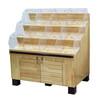 超市货架木制干果货架中岛展示架糖果散称货柜定制