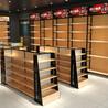钢木双面货架货柜厂家超市货架展示架便利店置物架