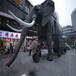 商場房地產宣傳活動道具巡游機械大象出租機械大象出租