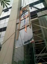 深圳東莞惠州急修換高空幕墻玻璃外墻維修補漏防水更換圖片