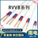 阻燃聚氯乙烯RVVB絕緣扁形護套家裝軟電纜電線電纜國標銅芯