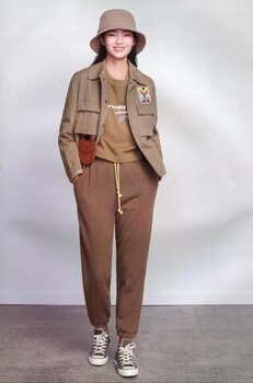 专柜品牌可路莎秋冬女装折扣尾货外贸女装折扣尾货直播折扣女装