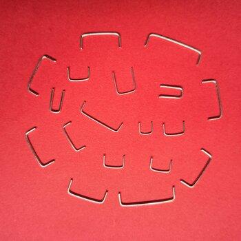 8mmPCB板跳线门型镀锡铜跳线U型铁跳线