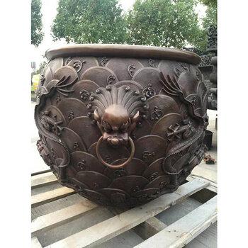 現貨故宮大銅缸銅制水缸門海鑄銅大缸失蠟鑄造