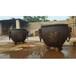 故宮太平缸雕塑銅聚寶盆鑄銅大缸祥獅工藝品