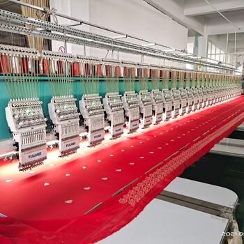 出售精品越美12針30頭350間距高速繡花機