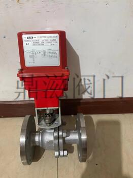 中國臺灣進口UNID不銹鋼電動法蘭R5電動球閥