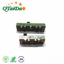 单联电位器.插板推拉式电位器.碳膜滑动电位器,调光直滑电位器图片