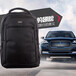 牛津布雙肩包定制logo奔馳寶馬奧迪汽車禮品背包18寸商務電腦包