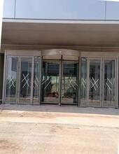 張掖不銹鋼自動旋轉門廠家圖片