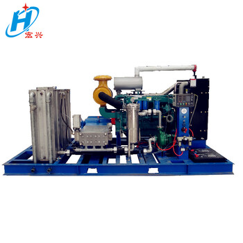 電廠換熱器清洗工業高壓清洗機1400公斤高壓清洗機