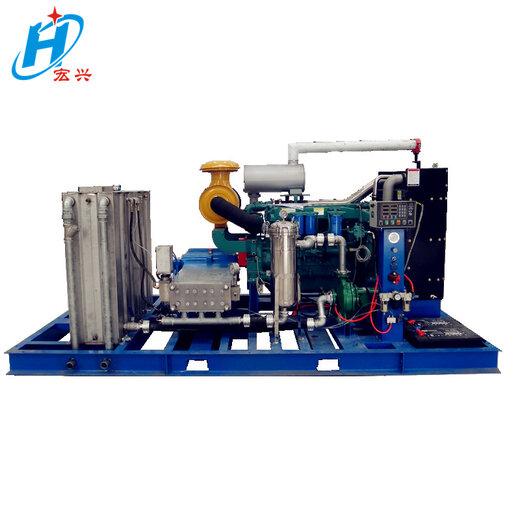 高速護欄清洗高壓水流清洗機1400公斤冷水高壓清洗機