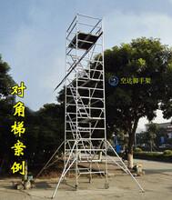 深圳寶安附近租鋁合金腳手架移動平臺,空達鋁合金工程腳手架廠家圖片