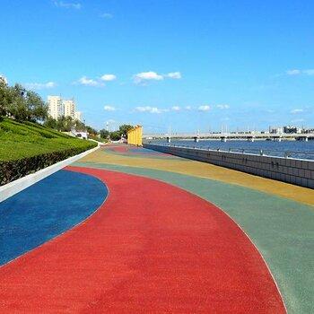 宿遷彩色瀝青路面—材料批發