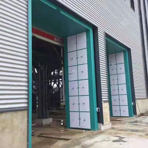 中牟石料廠搖擺洗車機設計