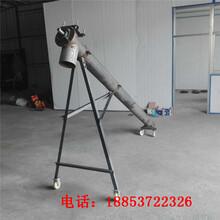 金華小型可移動不銹鋼上料機圓管式螺旋提升機廠家圖片