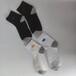 康加加批發零售秋季微電亮燈男女款全棉襪