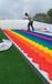 大型旱雪板彩虹滑梯建設規劃七彩滑道定制廠家運營管理