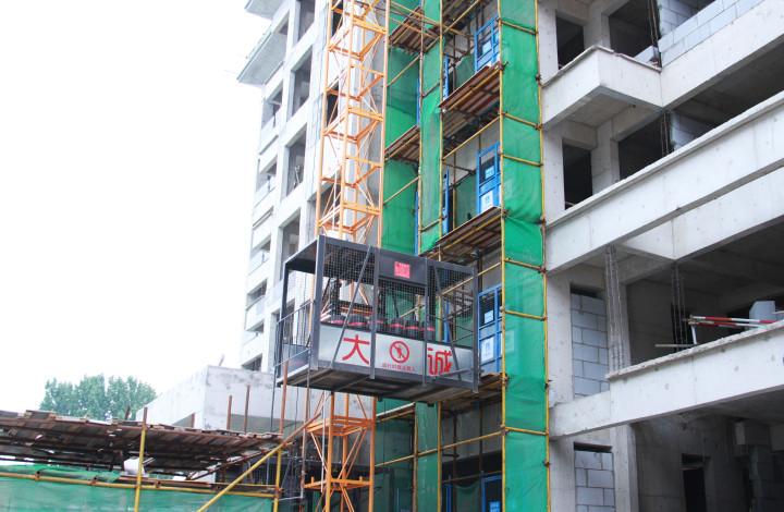 SS120/120建筑工地物料机施工升降机工程机械厂家生产