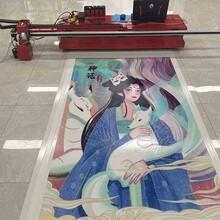 安徽3D5D地下停車場地面UV打印機車位涂鴉彩繪機圖片