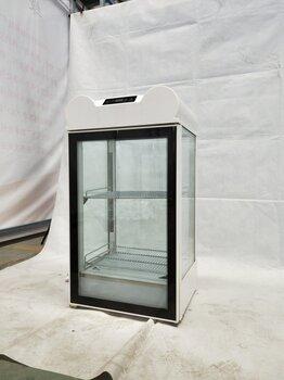 食品保溫展示柜熟食小型恒溫箱弧形鋼化玻璃蛋撻保溫柜電熱保溫機
