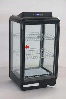 熱奶柜商用飲料奶茶加熱柜立式保溫熱飲柜學生奶加熱保溫展示柜
