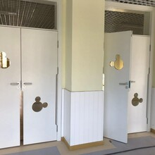 實木復合門,辦公室實木門,貼板實木套裝門,安徽木門廠家圖片