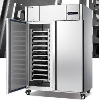 美廚商用冷柜GN1.2TN2-D餅盤高身柜烘焙面團冷藏保鮮柜