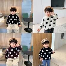 5元童裝批發韓版毛衣兒童加絨打底衫庫存尾貨童裝毛衣批發3-10歲