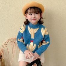大朗針織廠家童裝短袖純棉針織衫百搭兒童毛衣貨源處理低至3元