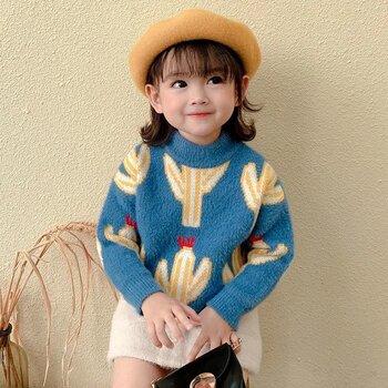 大朗针织厂家童装短袖纯棉针织衫百搭儿童毛衣货源处理低至3元