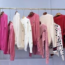 五六元女士毛衣包芯紗女裝批發時尚地攤針織衫韓版女生羊毛衫